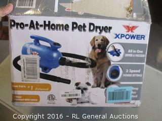 Pro at home Pet dryer