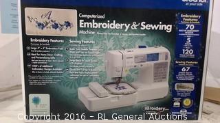 Embroidery & Sewing Machine