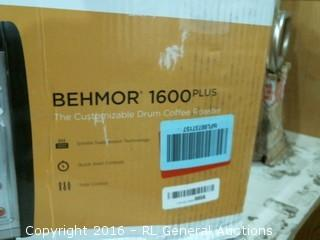 Behmor 1600 Plus Customizable Drum Coffee Roaster