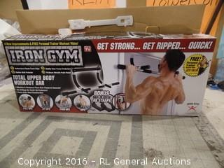 Iron Gym Work out bar