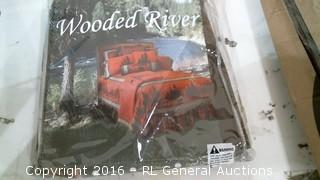 Wooden River Bedding sealed
