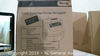 Coin Counter/Sorter/Wrapper