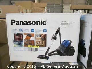 Panasonic Vacuum Cleaner Bagless