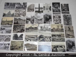Vintage / Antique Black & White Post Cards