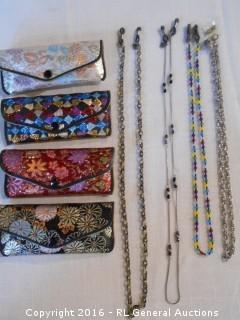 Vintage Glasses Cases & Glasses Necklace Holders