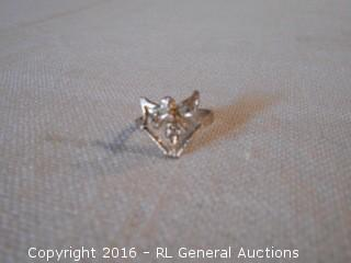 Sterling Silver 925 Ring w/ Fairy