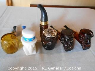 Vintage Avon Collector Bottles - Pipes Collection - Empty
