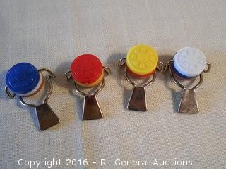 Vintage Lock Down Wine Bottle Tops