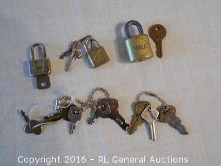 Vintage Locks & Keys