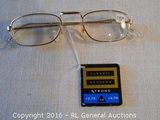 New Reading Glasses w/ Tag