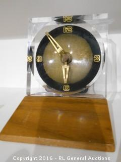 "Art Decco Clock 4"" W X 5"" T"