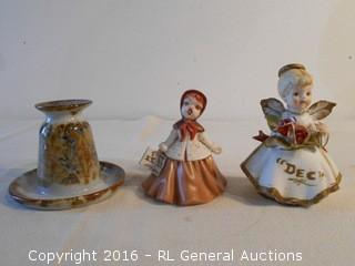 Vintage Figurines (Marshall Coyl) & Pottery