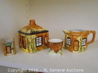 "Price Kensington ""Cottage Ware"" Made in England 1.5"" Tall - 4.5"" Tall"