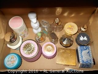 Vintage Perfume Bottles (Empty), Compact +