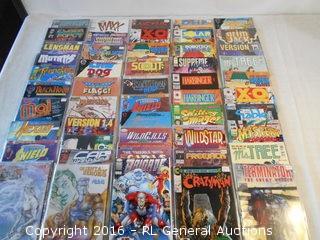 Large Lot of 50 Modern Comics