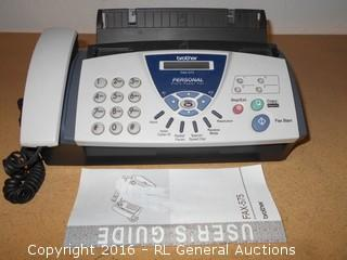 Brother Telephone / Fax Machine FAX-575 w/ Manual