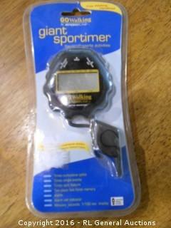 New Giant Sportimer Stopwatch / Whistle Pack