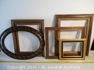 Vintage Picture Frames - Medium & Large