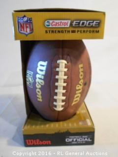 New Wilson NFL Football Official Size