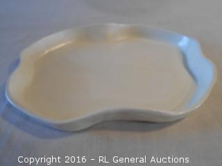 "Ceramic Vanity Tray 12"" W X 9.5"" D"
