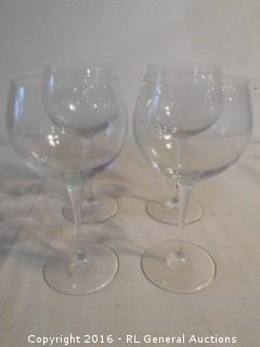 Set of 4 Stemware Glasses