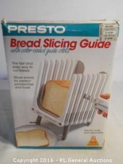 New Presto Bread Slicing Guide
