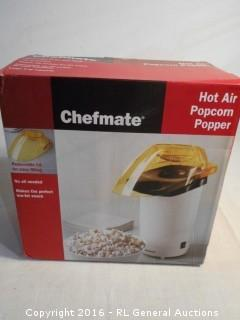 New Chefmate Hot Air Popcorn Popper
