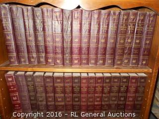 Complete 1947 Encyclopedia Americana 30 Volume Set & 1948 & 1950 Annuals