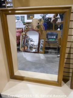 "Large Mirror 30"" W X 38"" T"