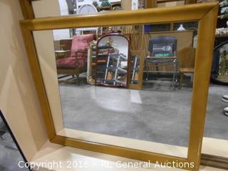 "Large Mirror 38"" W X 32"" T"