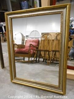 "Vintage Mirror 22.25"" W X 28.5"" T"