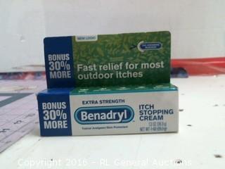 Benadryl Itch cream
