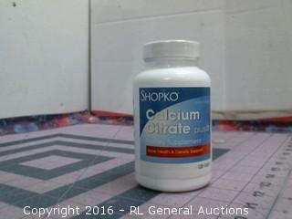 Calcium citrate plus d