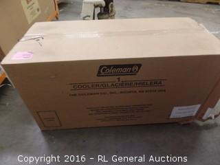 Coleman Cooler Package damaged New in Box