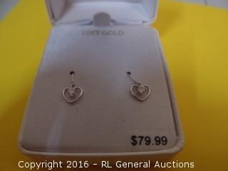 Heart Earrings MSRP $79.99