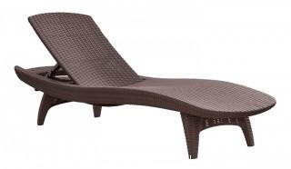 Keter Pacific Sun Lounger Retial $215.88 (Package Damaged,New In Box)