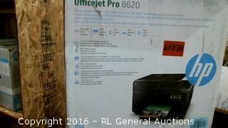 Office Jet Pro 8620 (Leaks Black Ink)