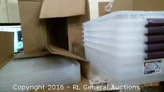 Storage boxes and lids