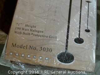 Halogen Torchiere Floor lamp Factory sealed