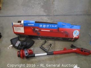 Craftsman Electric Weedwacker Line trimmer