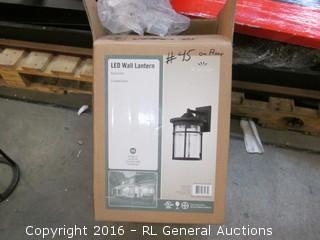 LED Wall Lantern/ no glass