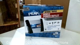 Peak Work Zone Mobile Power outlet