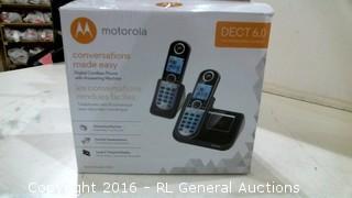 Motorola Digital Cordless Phone with answering Machine