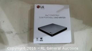 LG  Mac Compatible Slim Portable DVD Writer