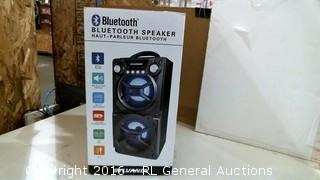 Bluetooth Speaker Powers on Please Preview
