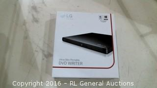 LG Ultra Slim Portable DVD Writer