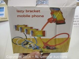 Lazy bracket Mobile phone