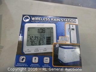Wireless Rain Station