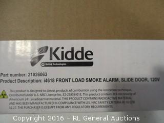 Kidde Front Load Smoke Alarm Slide door