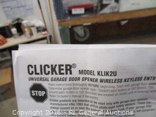 Clicker Universal Garage Door opener